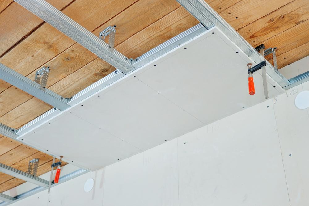 Installation faux plafond